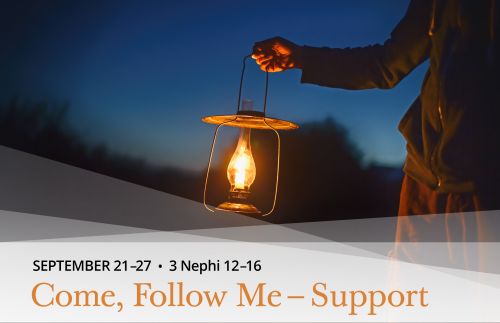 Come, Follow Me - Support - September