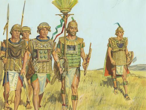 Moroni and his army