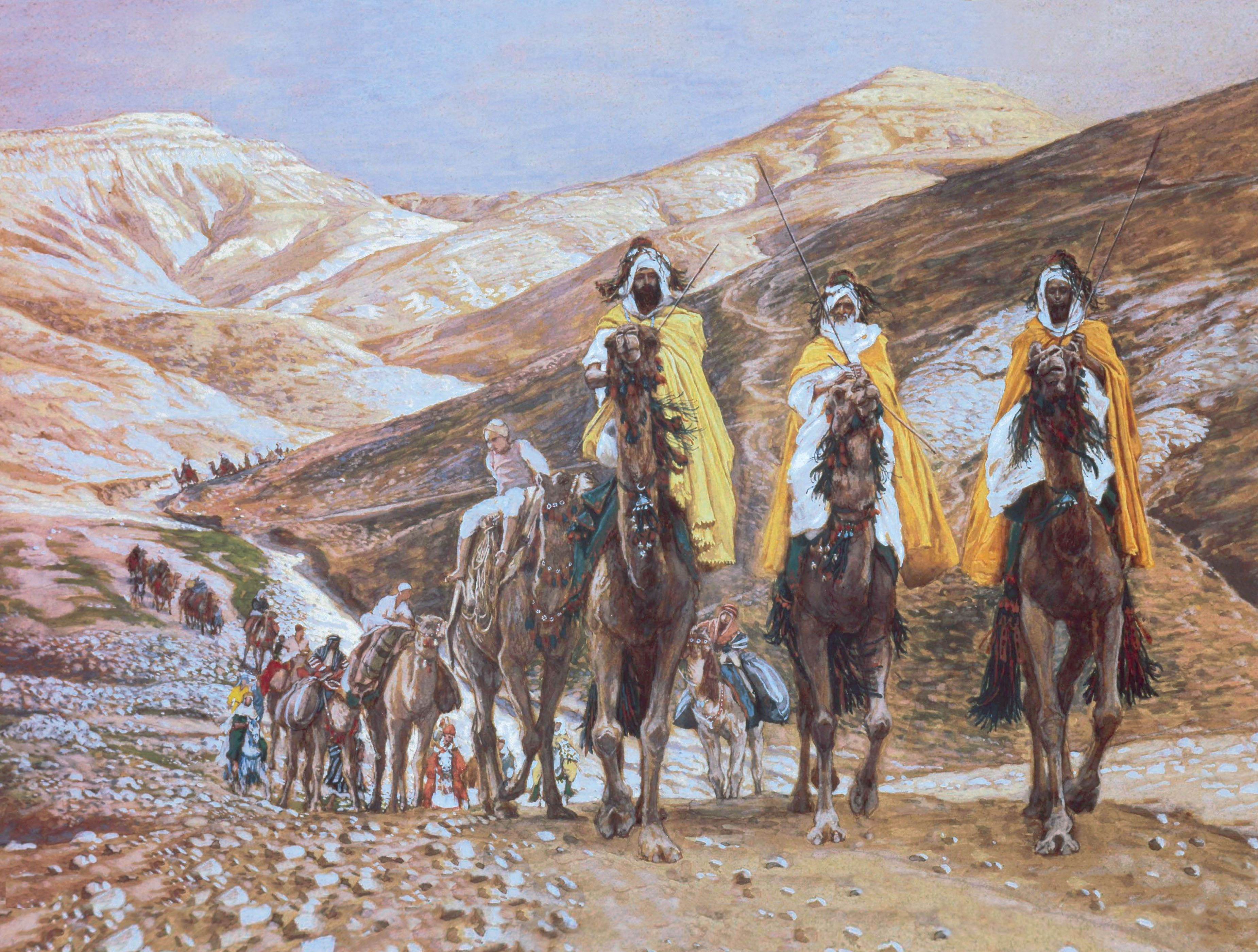Journey of the Magi, by James Tissot