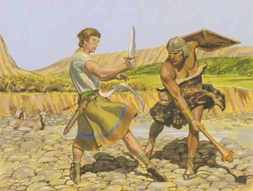 Ammon fighting robber