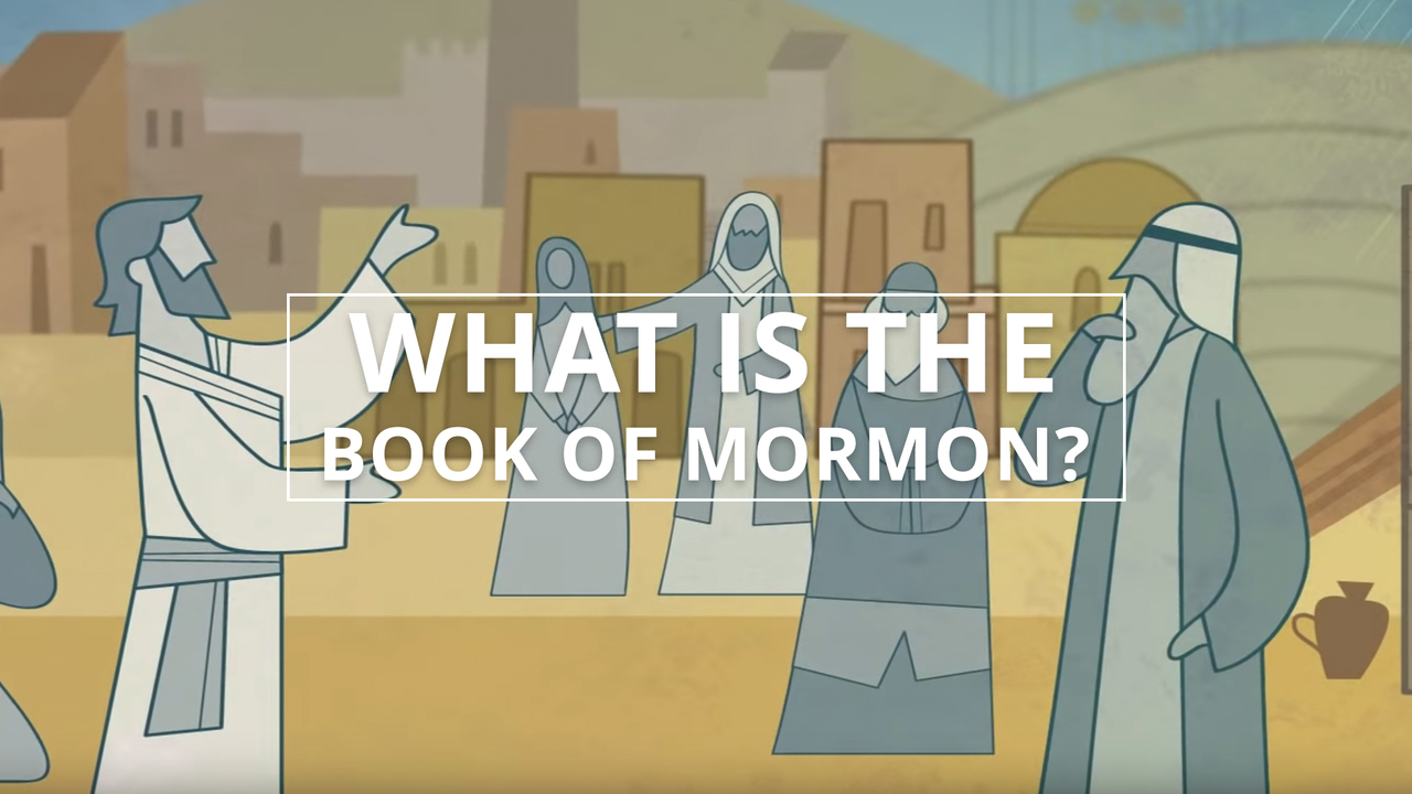 Jesus Christ teaches people in the video what is the Book of Mormon