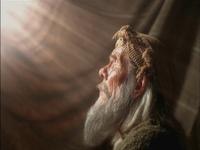 Abraham sees a light