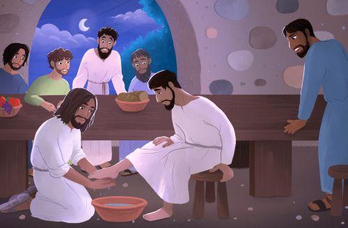 Jesus Served Others