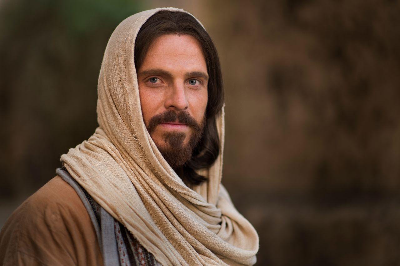 Jesus Christ smiling invites all to come unto Him