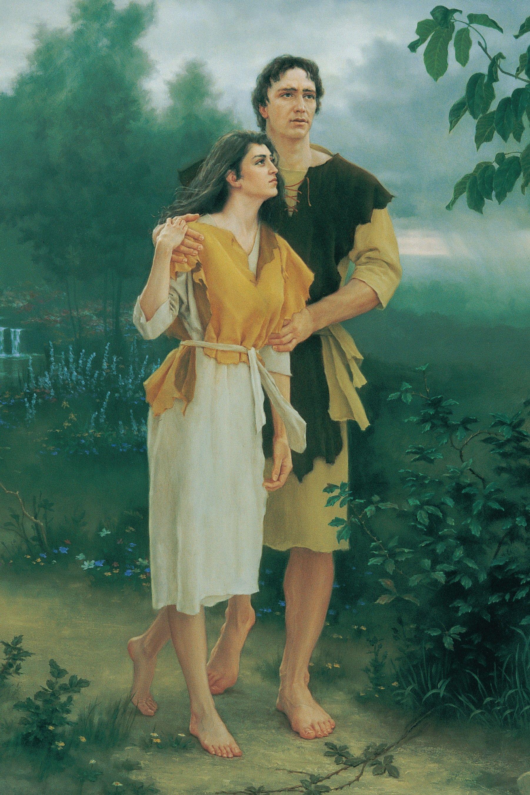 Leaving the Garden of Eden, by Joseph Brickey
