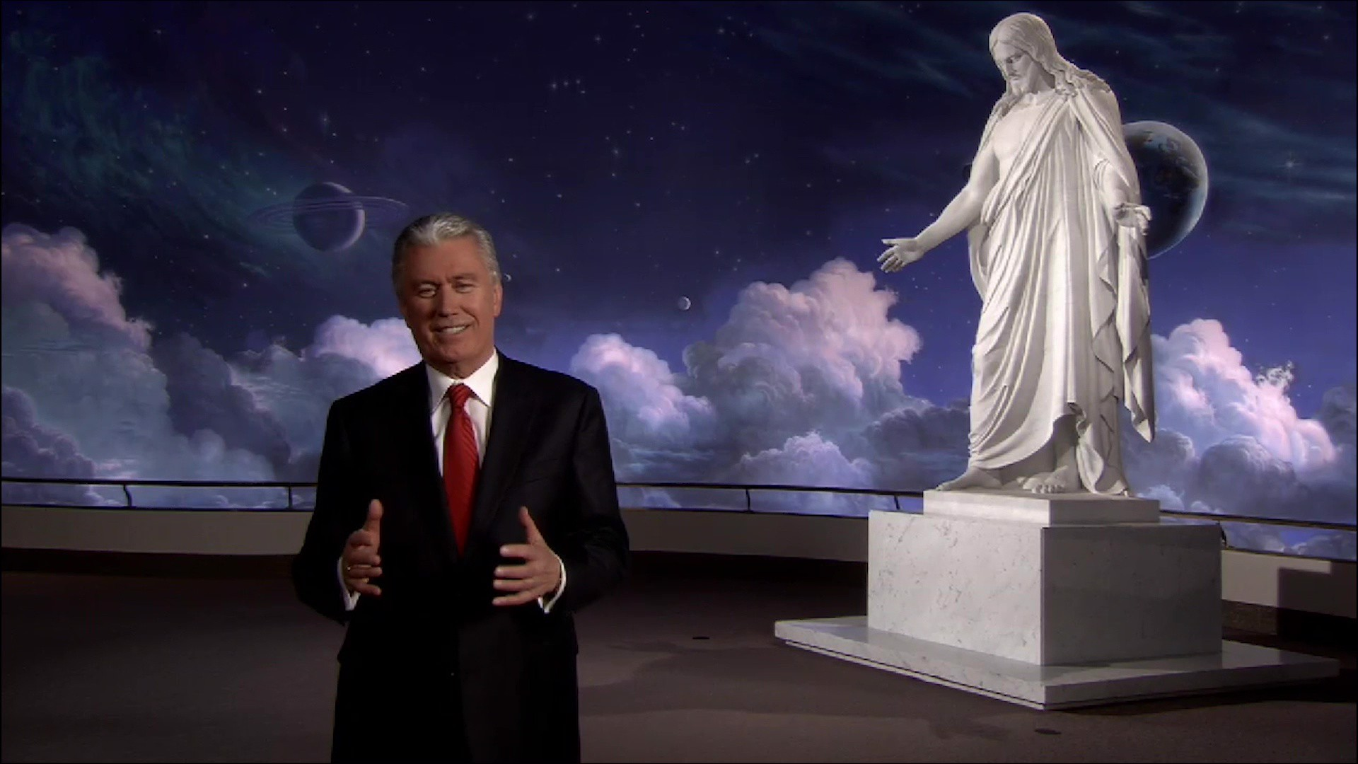 Elder Dieter F. Uchtdorf bears his testimony of the Son of the Living God, the Creator, and Savior of the World.