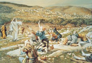 The Healing of the Ten Lepers, by James Tissot