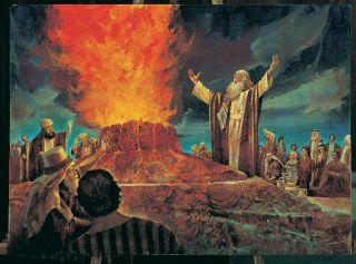 Elijah Contends against the Priests of Baal
