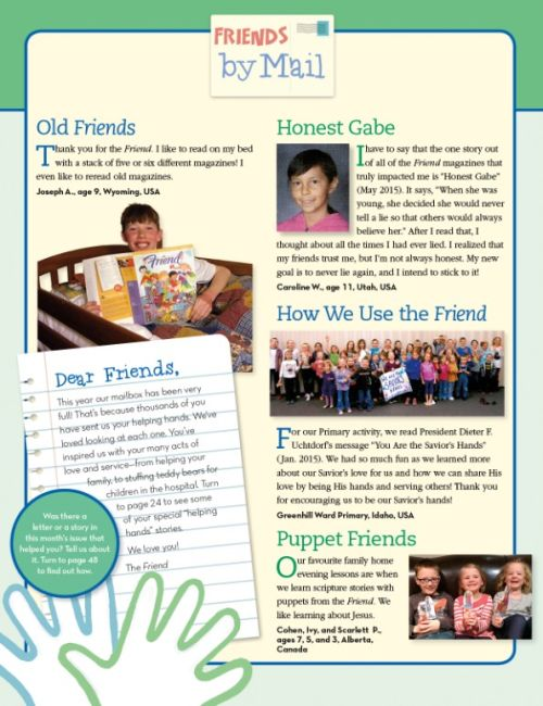 Friend Magazine, 2015/11 Nov