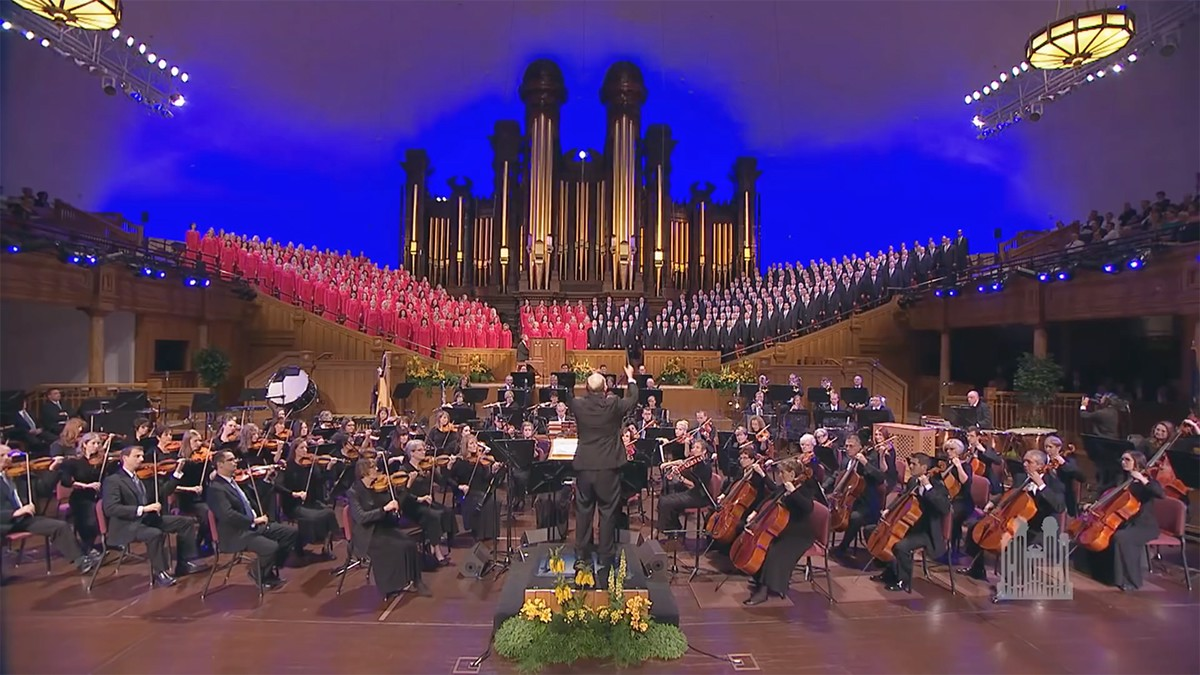 """The Tabernacle Choir and Orchestra at Temple Square present the """"Hallelujah Chorus"""" from """"Messiah"""" composed by George Frideric Handel."""