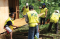 Helping Hands: Building Temporary Shelters