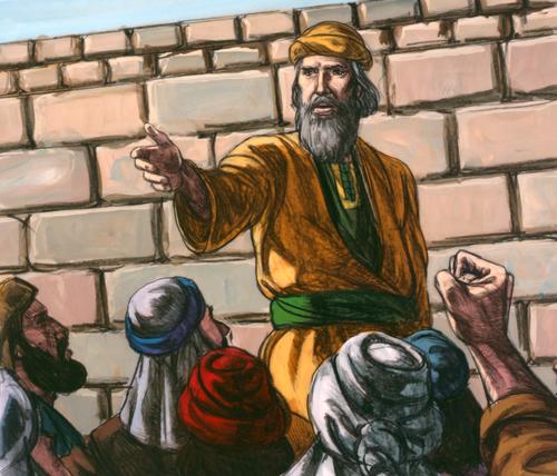 Lehi preaching