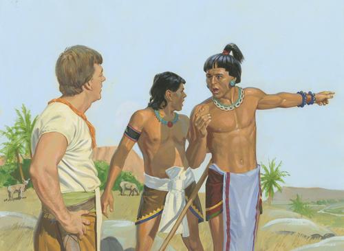 servants with Ammon