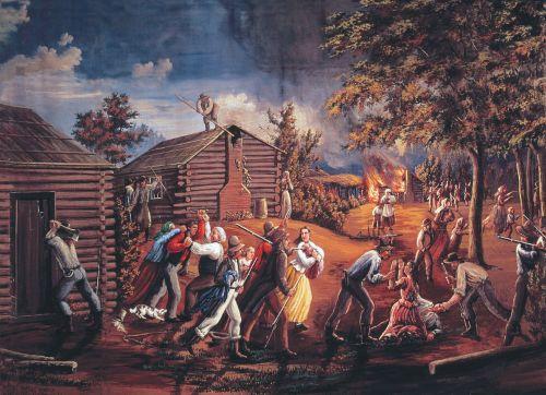 Saints driven from Jackson County, Missouri