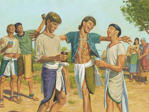 boys sinning