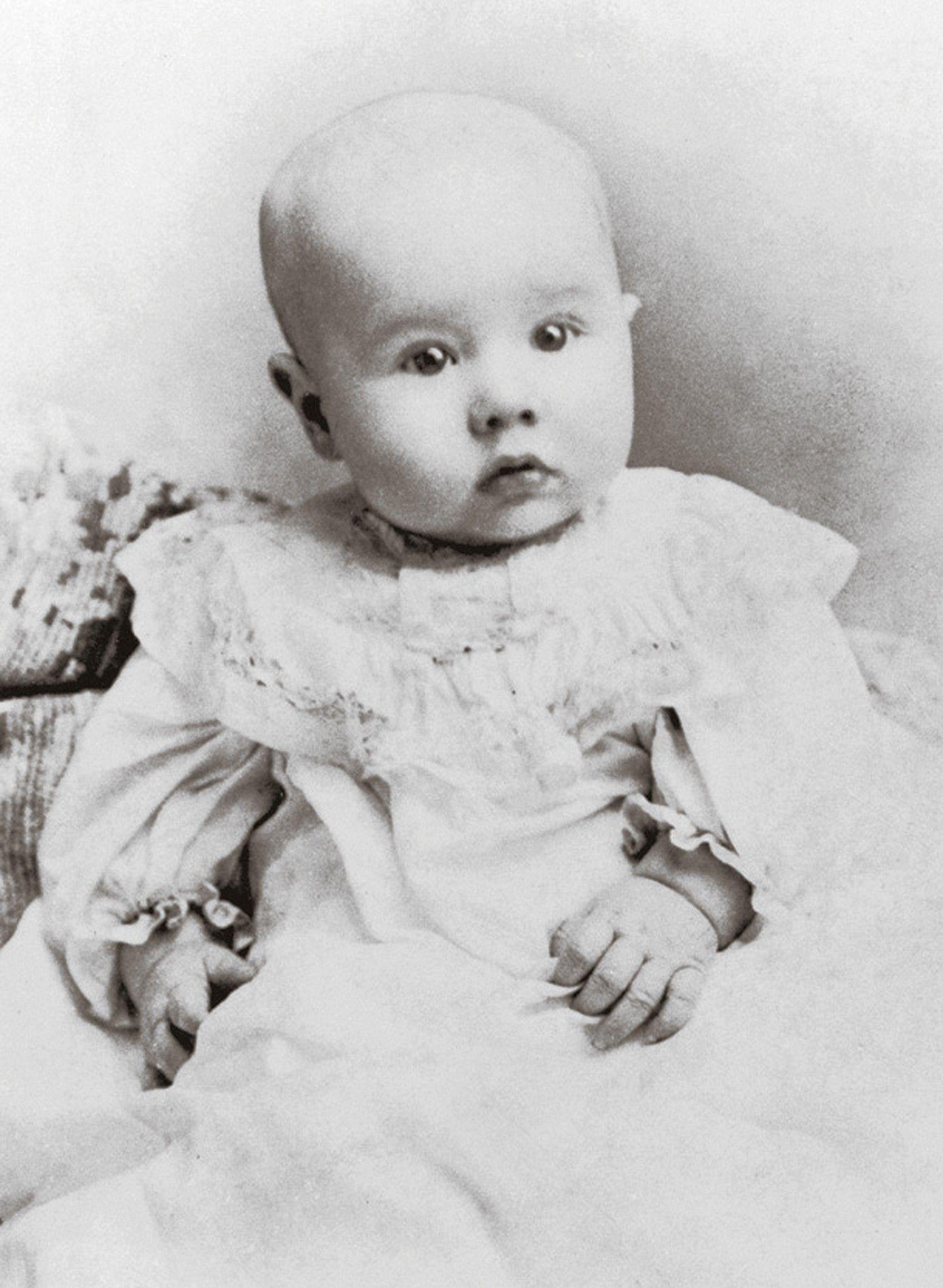 Ezra Taft Benson as a baby in 1900. Teachings of Presidents of the Church: Ezra Taft Benson (2014), xii