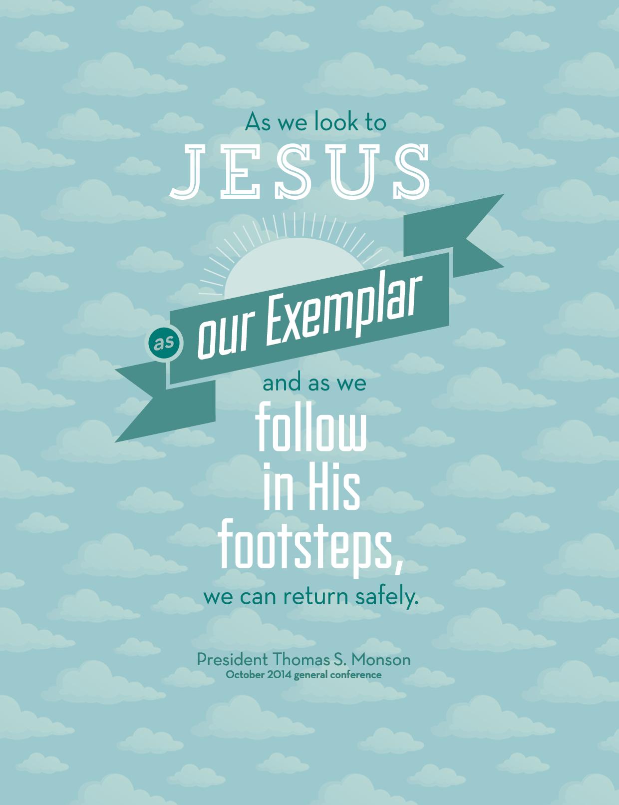 As We Look to Jesus