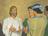 Savior with disciples
