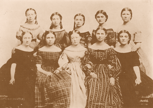 Brigham Young's daughters [ca. 1865]