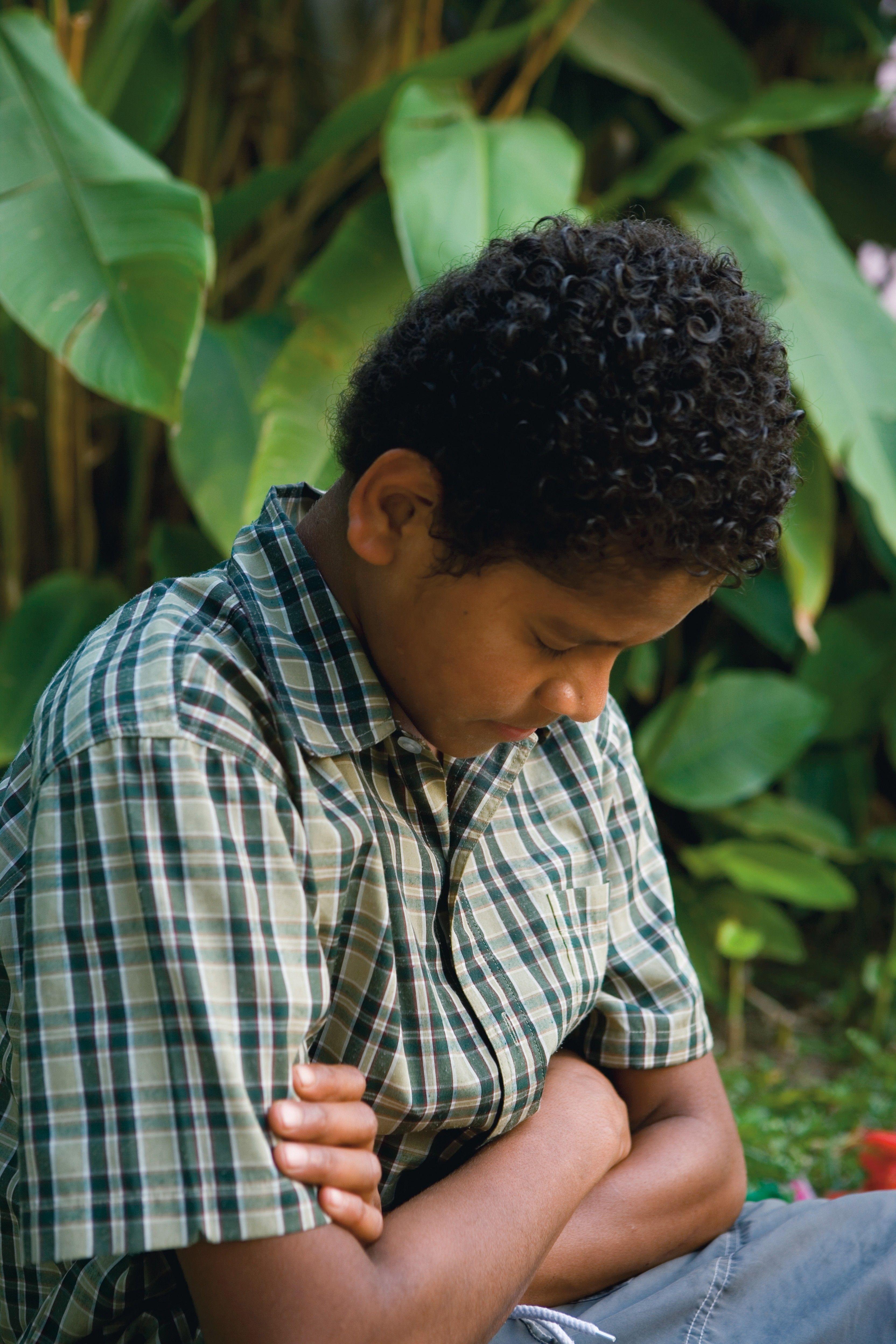 Young Boy Praying; GAB 111; 2 Nephi 32:8–9; Alma 34:17–27; 37:36–37; 3 Nephi 18:18–20