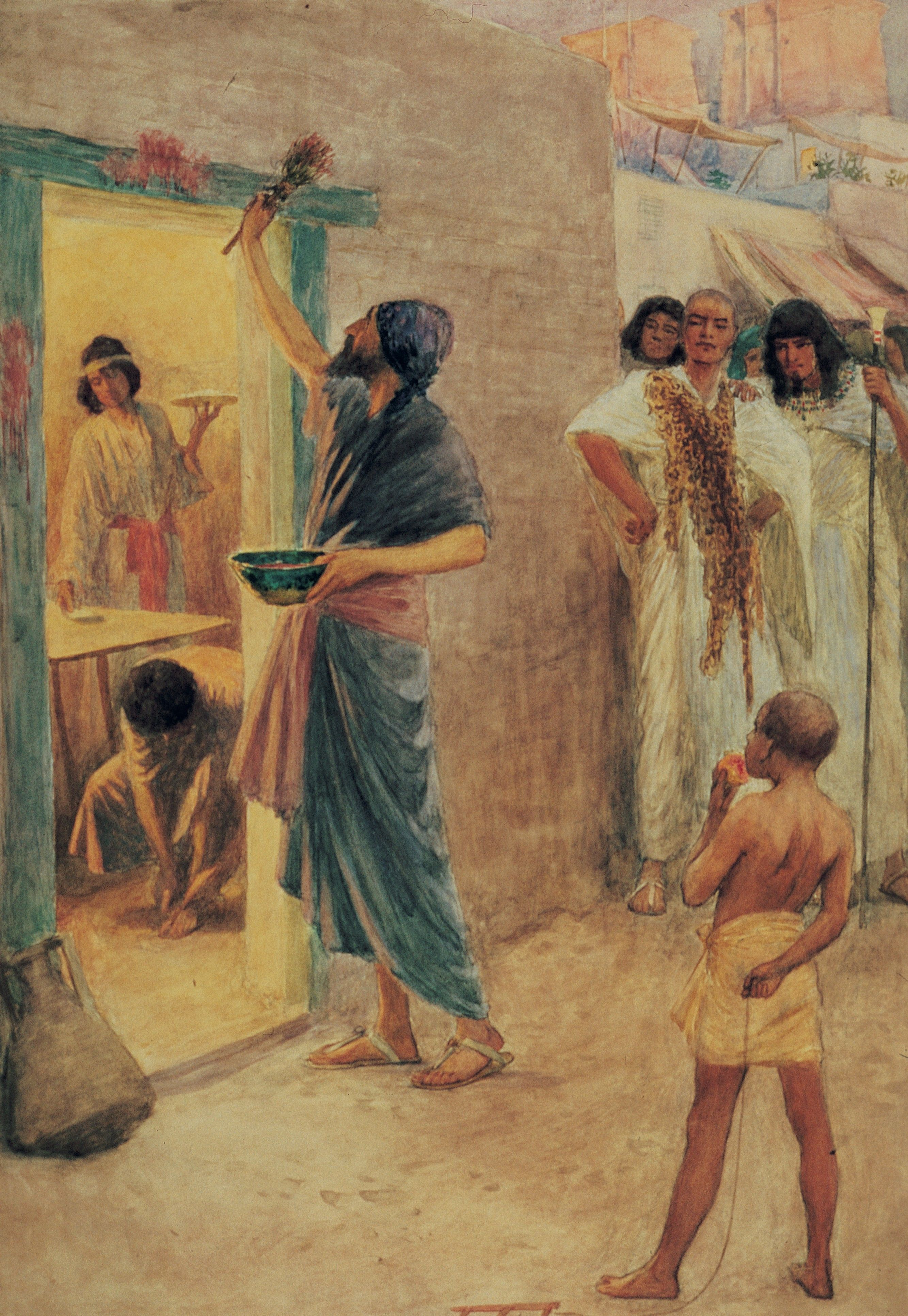 The Passover, by W. H. Margetson