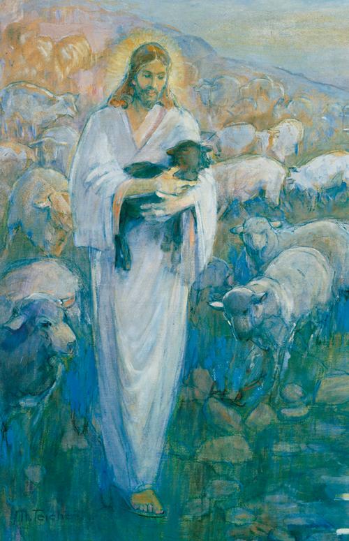 The Good Shepherd gathering His sheep