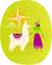 Woman with a Llamas