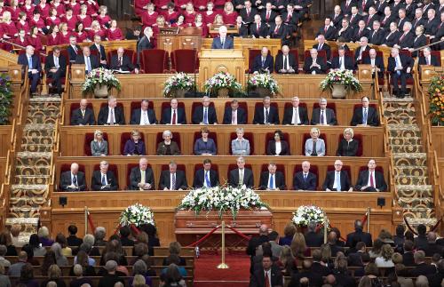 Elder Hales Funeral
