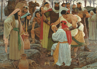 The Liahona, by Arnold Friberg