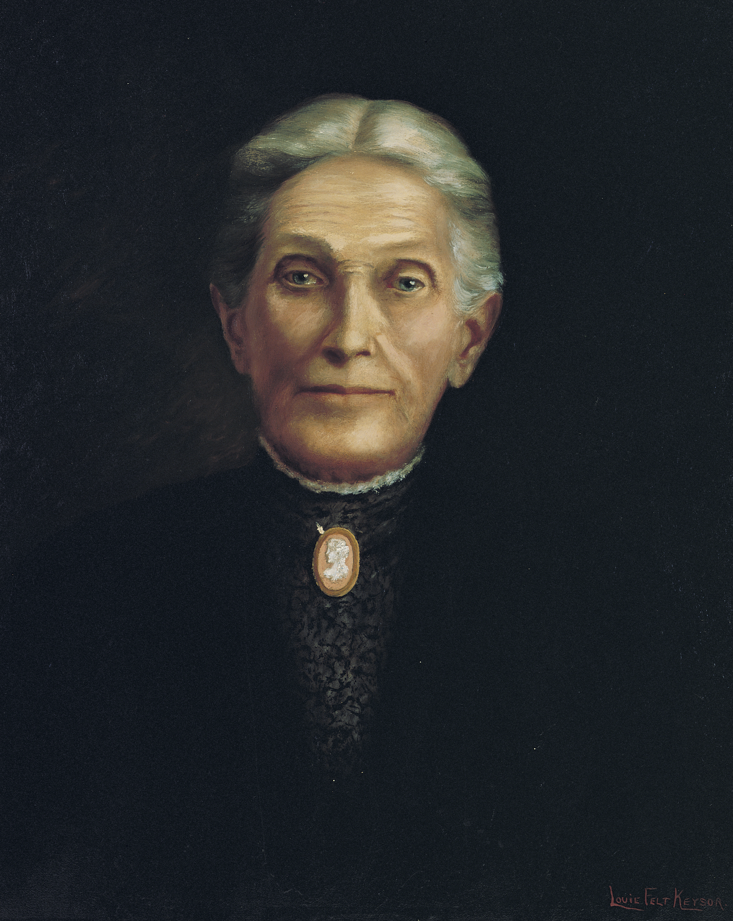 A photograph of Aurelia Spencer Rogers, who is known as the founder of the Primary, which was organized in 1878.