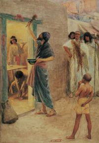 The First Passover, by William Henry Margetson