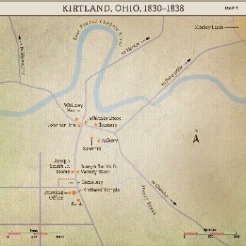 Church History Maps: Kirtland, Ohio, 1830-1838