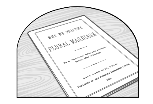 Saints V2 illustration - Why We Practice Plural Marriage, booklet