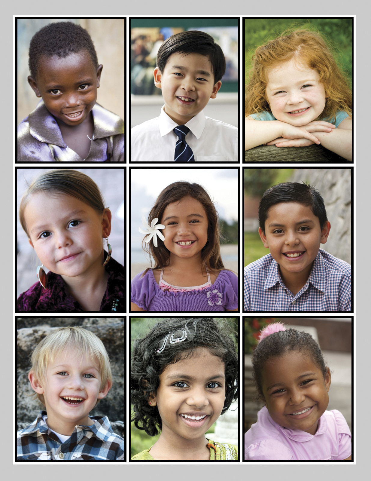 A collage of Primary-age children.