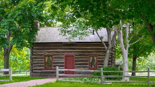 Whitmer's Log Home