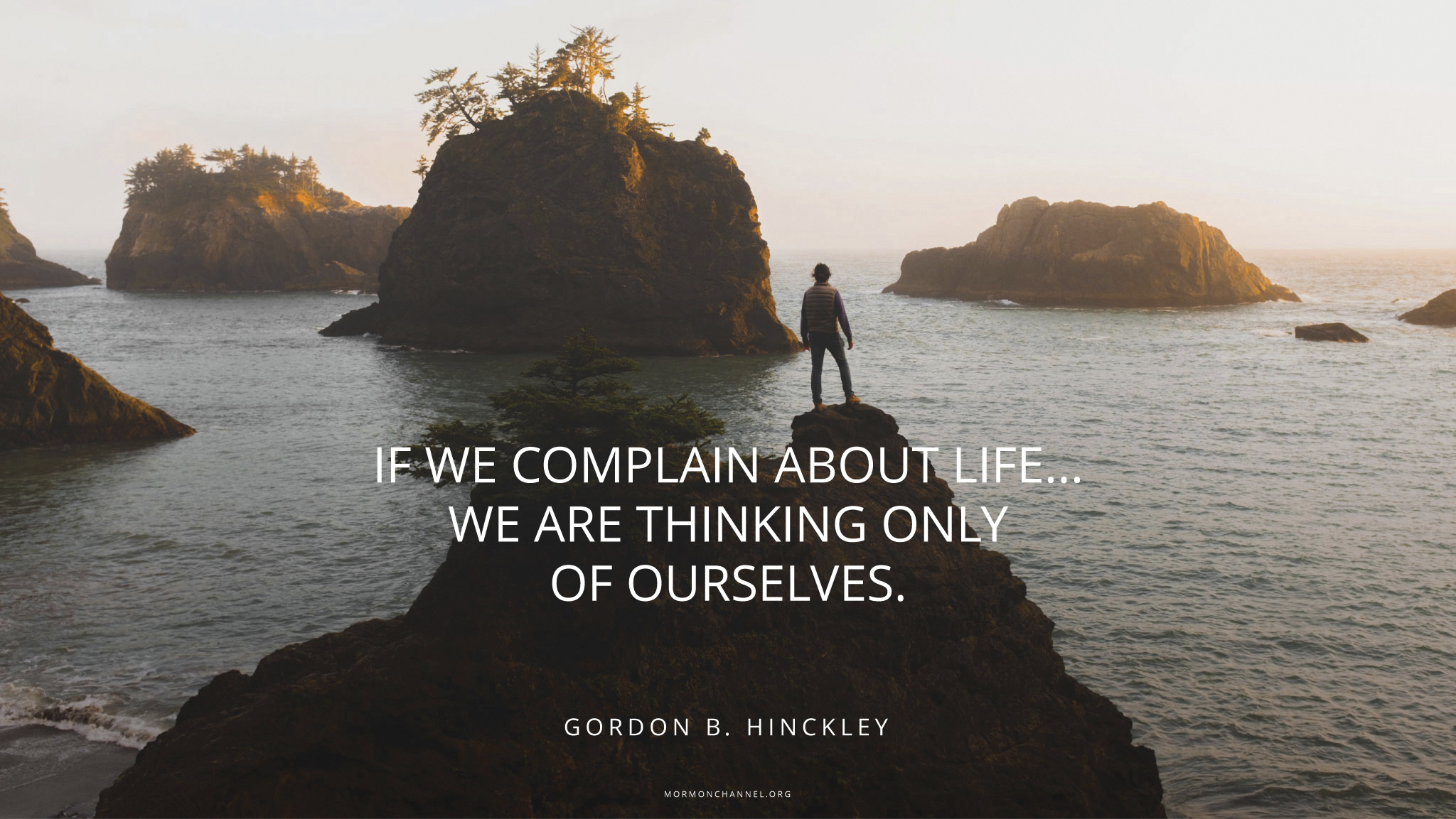 President Gordon B Hinckley Picture Quotes