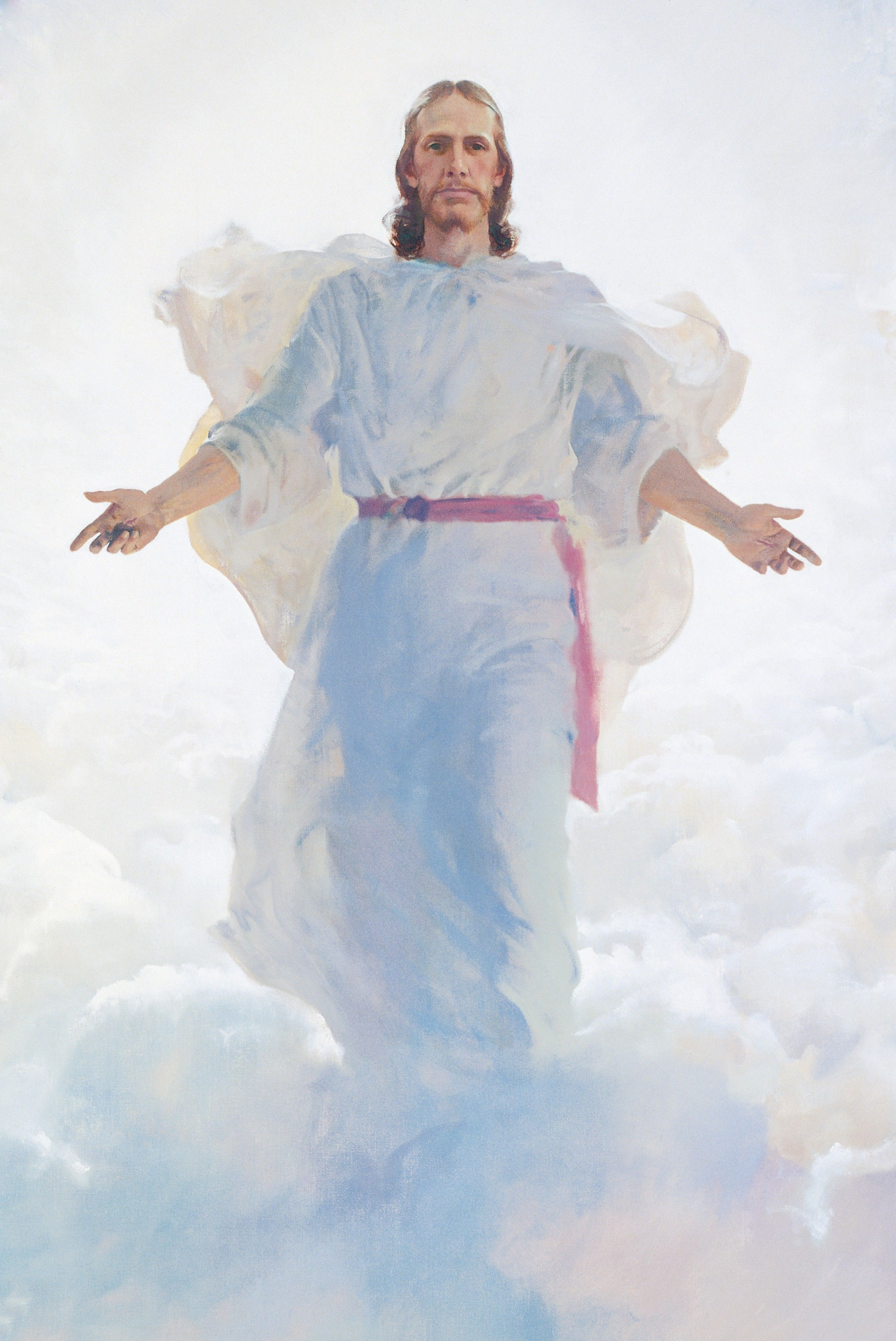 The Resurrected Jesus Christ, by Harry Anderson (62187); GAK 239; Primary manual 2-65; Primary manual 3-15; Primary manual 4-49; Primary manual 6-48; Primary manual 7-37; Primary manual 7-25; Matthew 16:27; 24:30–31; 25:31