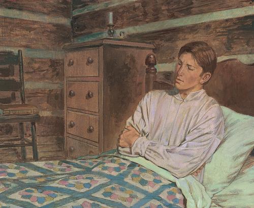Joseph in bed