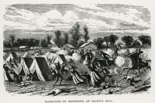 Massacre of Mormons at Haun's Mill