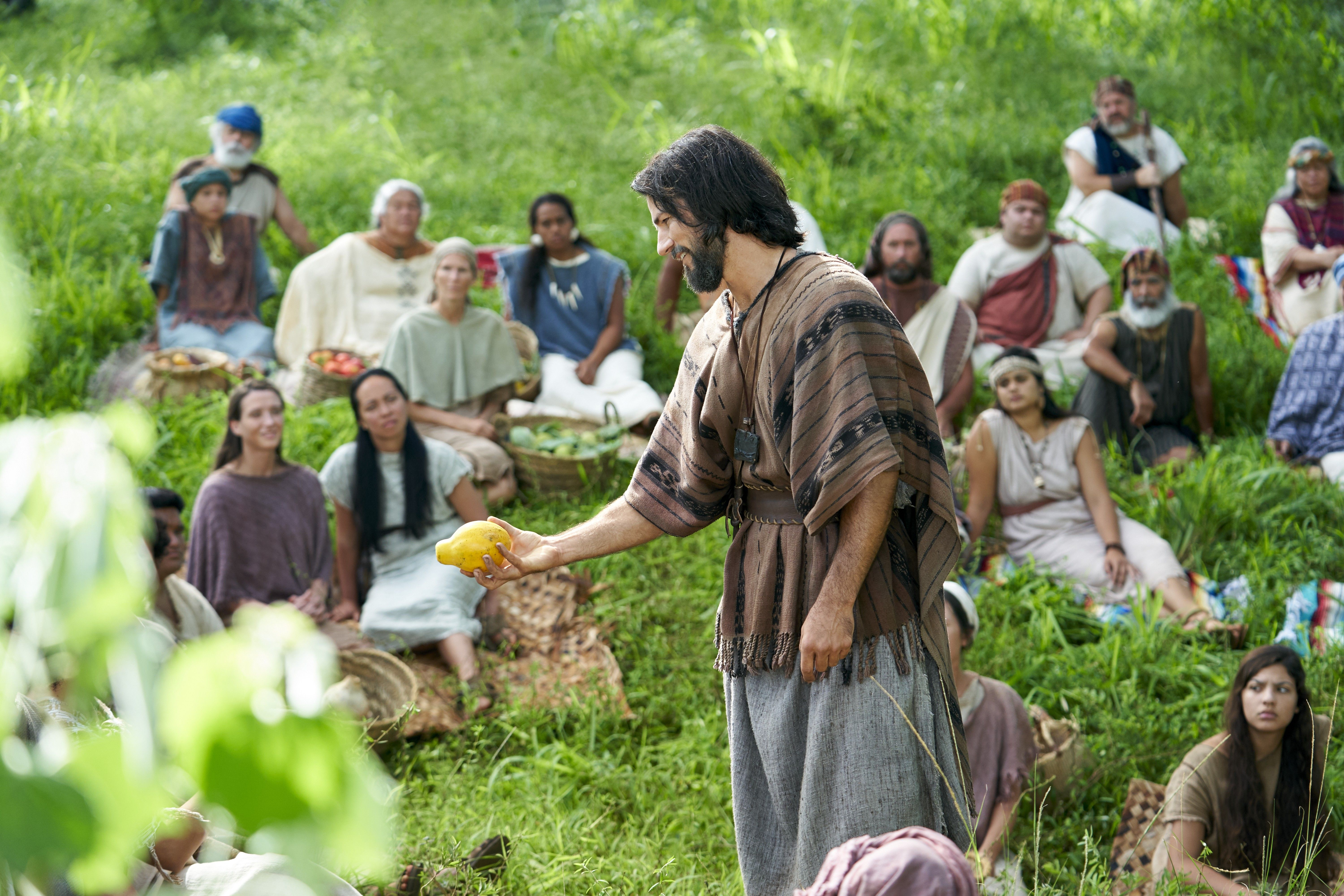 Alma the Younger teaches the Zoramites in the land of Antionum about the fruit that can come from their faith.