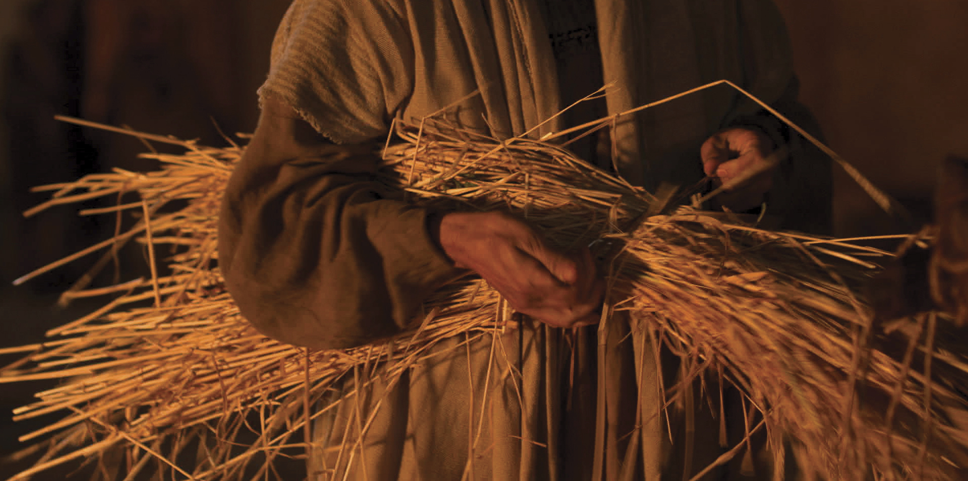 Jesus tells the parable of the wheat and tares.
