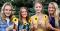 Utah: Young Women Holding Sunflowers