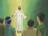 Jesus departing