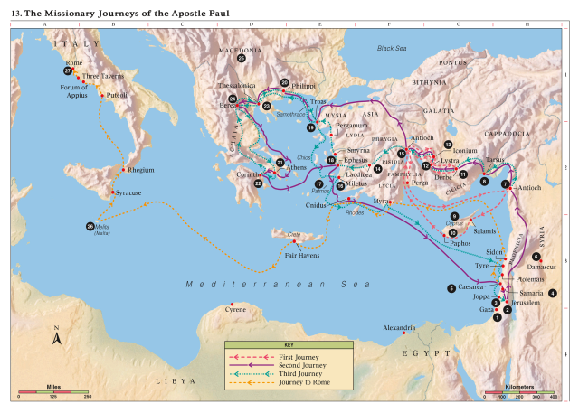 map_of_Pauls_Missionary_Journey
