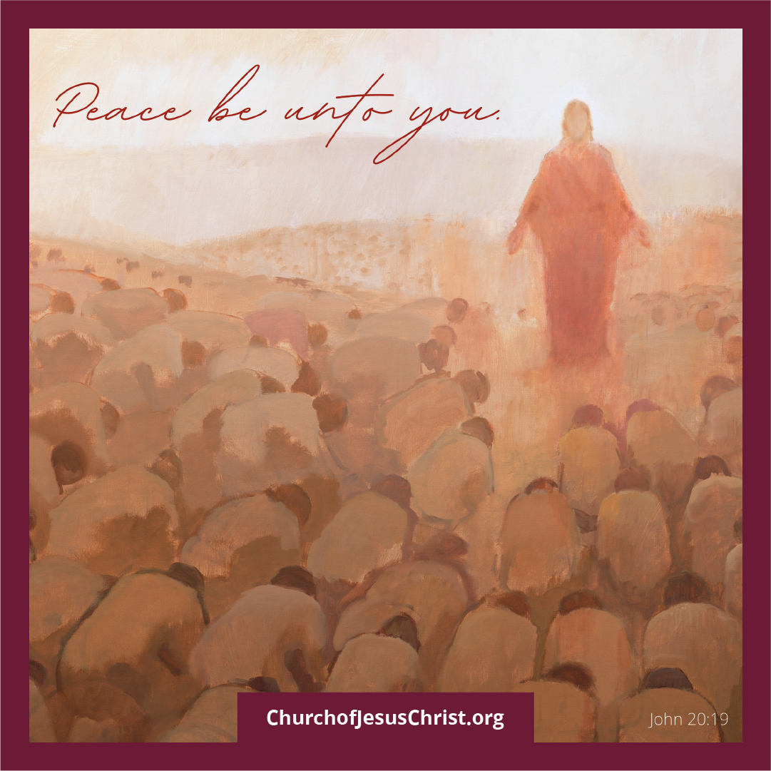"""""""Peace Be Unto You"""" © undefined ipCode 1."""