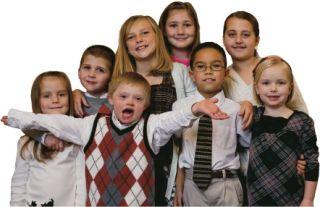 Portraits. Children. Group
