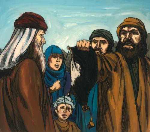Israelites asking for water