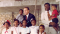 Thomas S. Monson with Black Family