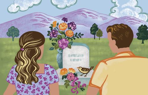 Parents at Grave
