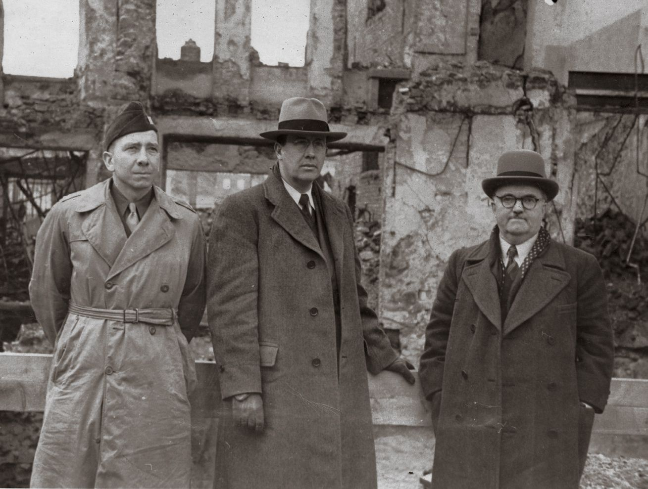 Elder Benson standing with his companions during his mission in Europe, around 1946. Teachings of Presidents of the Church: Ezra Taft Benson (2014), 56